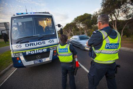 Police drug test