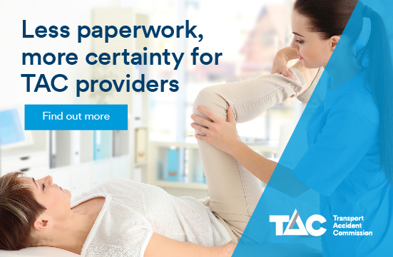 Less paperwork more certainty for providers