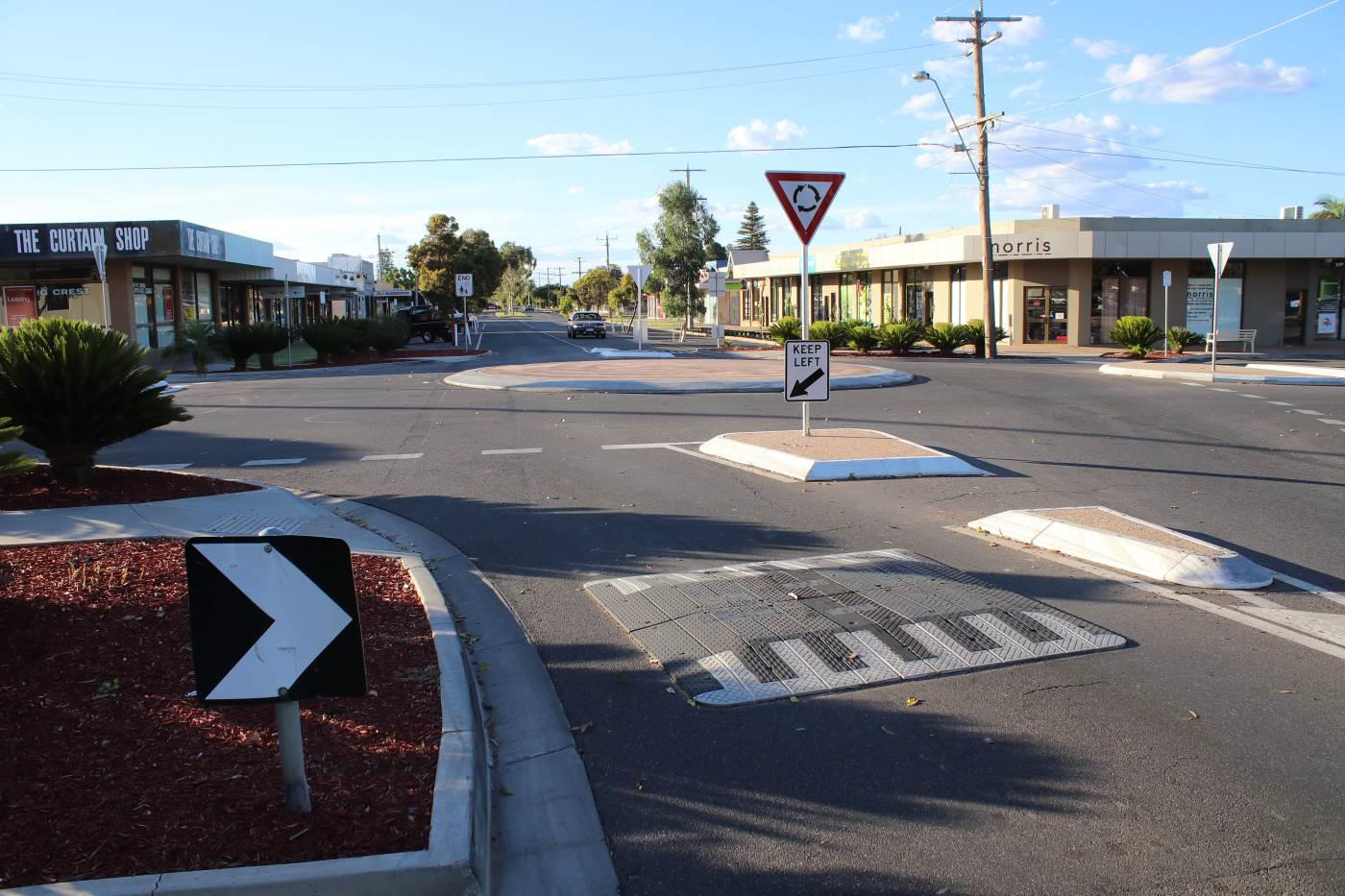 Mildura City Council Roundabout