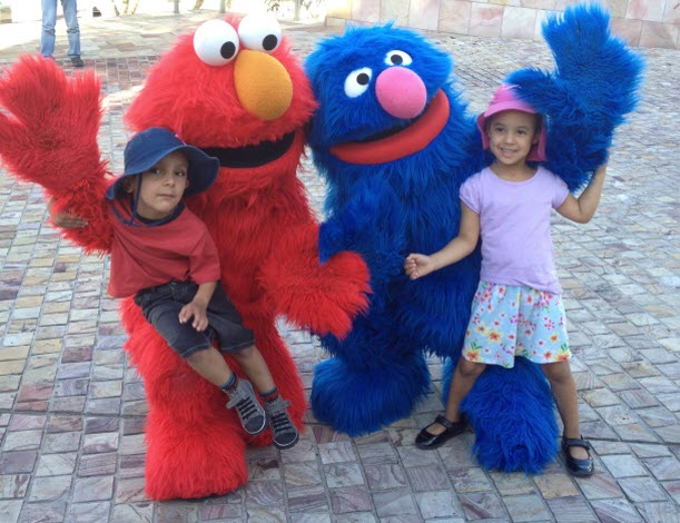 Sesame St characters