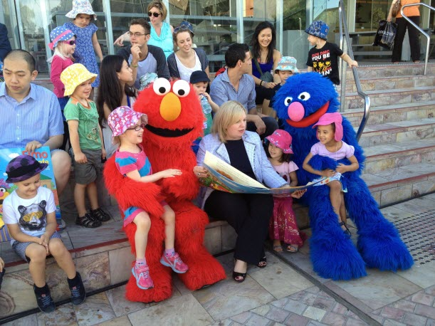Kids Safe with Elmo and Grover