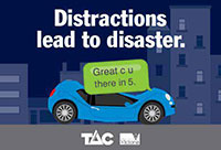 Distractions lead to disaster