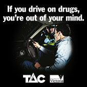 If you Drive on Drugs your out of your mind