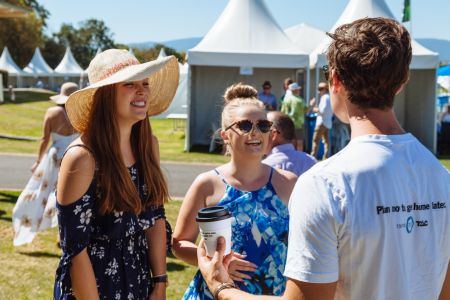 TAC staff will be at country races across Victoria helping racegoers get home safely.